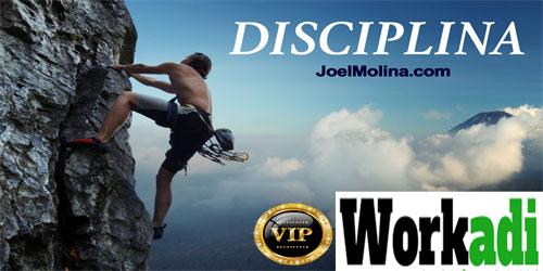 Workadi Como y Por qué Aplicar Disciplina en Workadi y en tu Vida Personal