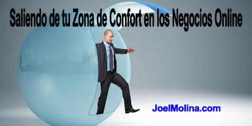 Saliendo de tu Zona de Confort en los Negocios Online