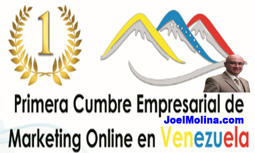 Primera Cumbre Empresarial de Marketing Online en Venezuela