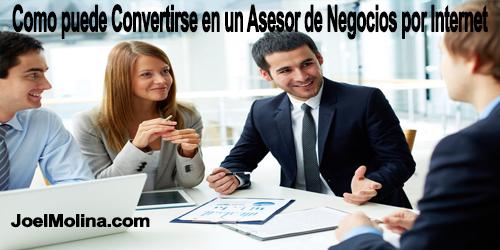 Como puede Convertirse en un Asesor de Negocios Online