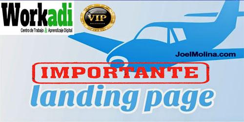 Workadi Importancia de una Pagina de Aterrizaje para Workadi y Negocios Online