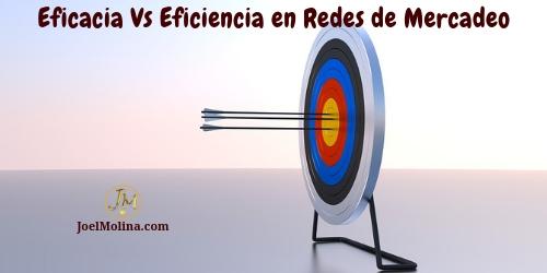 Eficacia Vs Eficiencia en Redes de Mercadeo