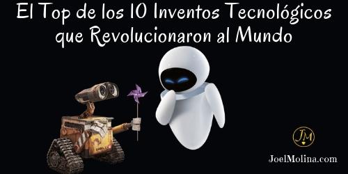 El Top de los 10 Inventos Tecnológicos que Revolucionaron al Mundo