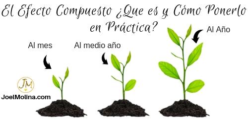 El Efecto Compuesto ¿Que es y Cómo Ponerlo en Práctica? - Joel Molina