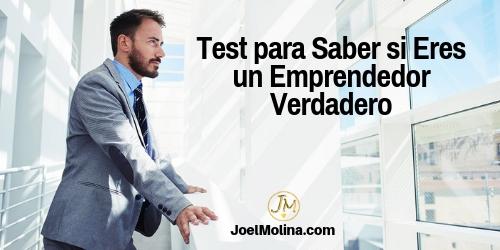 Test para Saber si Eres un Emprendedor Verdadero Negocios Online