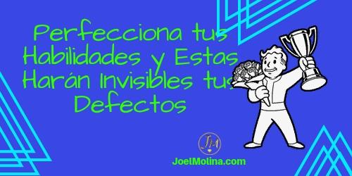 Perfecciona tus Habilidades y Estas Harán Invisibles tus Defectos en Negocios Online - Joel Molina