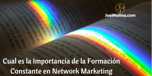 Cual es la Importancia de la Formación Constante en Network Marketing