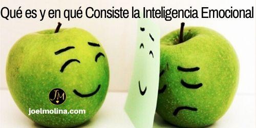 Qué es y en qué Consiste la Inteligencia Emocional