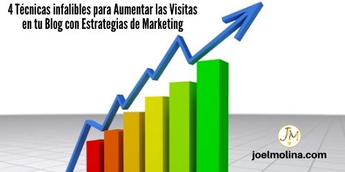 4 Técnicas infalibles para Aumentar las Visitas en tu Blog con Estrategias de Marketing - Joel Molina