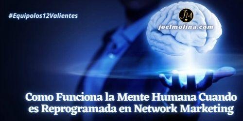 Como Funciona la Mente Humana Cuando es Reprogramada en Network Marketing