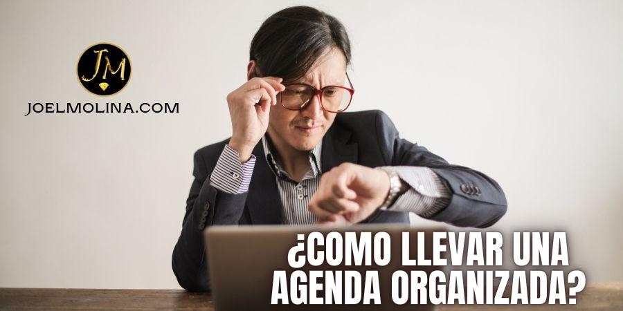 Como Llevar una Agenda Organizada para Planificar tu Semana