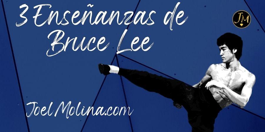 3 Enseñanzas de Bruce Lee que Pueden Hacerte Mejor Persona