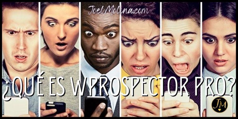 ¿Qué es Wprospector Pro y Como Funciona?